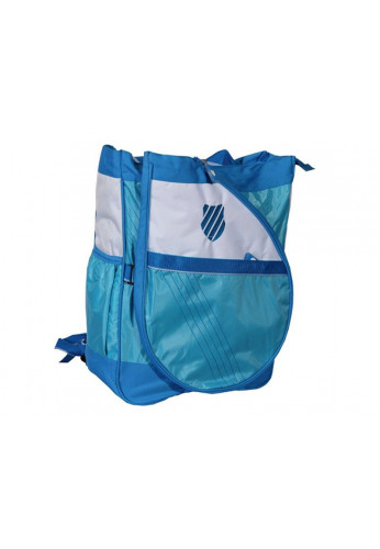 Mochila Bolso Kswiss IBIZA CONVERTIBLE azul y blanca