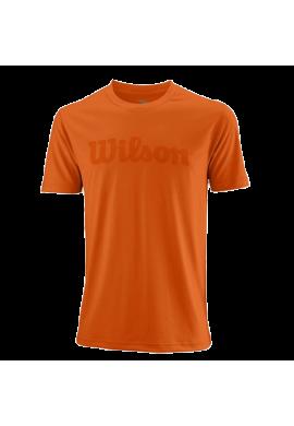 Camiseta Wilson M UWII SCRIPT TECH TEE Burn Ora