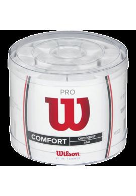 Pro overgrips Wilson Perforado Blanco
