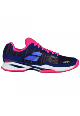 Zapatillas Babolat JET MACH I CL WOMEN estate blue/fandango pink