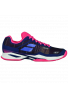 Zapatillas Babolat JET MACH I CL WOMEN estate blue/fandango pink