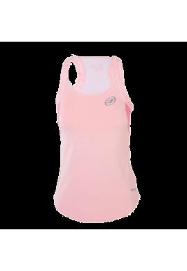 Camiseta Bullpadel AKER 2 rosa pastel