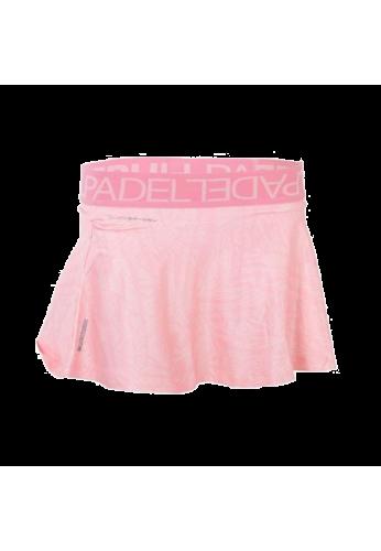 Falda Bullpadel AUFA rosa pastel