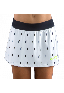 Falda Endless MINIMAL THUNDER white
