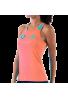 Camiseta Bullpadel CICLE naranja fluor