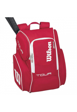 Mochila Wilson TOUR BACKPACK LARGE red