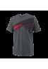 Camiseta Wilson B SLANT TECH TEE gris