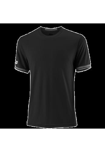 Camiseta Wilson TEAM SOLID CREW black