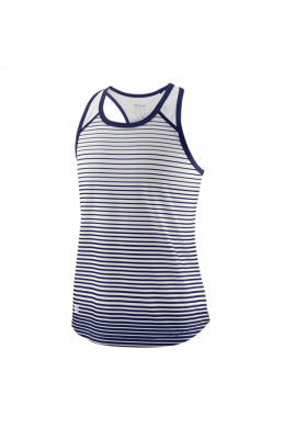 Camiseta Wilson G TEAM STRIPED TANK blue depth/white