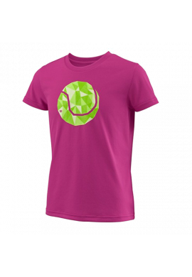 Camiseta Wilson G TBALL TECH TEE berry