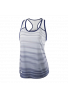 Camiseta Wilson W TEAM STRIPED TANK blue depth/white