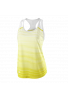 Camiseta Wilson W TEAM STRIPED TANK safety yellow/white