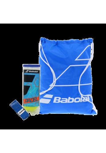 Pack Babolat bolsita + bote bolas + overgrips