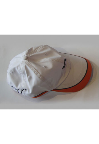 Gorra Varlion COLLECTION woman blanca y naranja