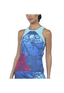 Camiseta Bullpadel IRUS Azul Abyss Estampado