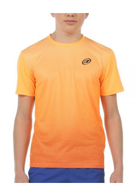 Camiseta Bullpadel CENEGUI JR Mandarina Fluor