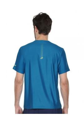 Camiseta Bullpadel ARNAJU Mandarina Fluor