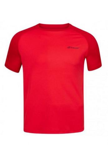 Camiseta Babolat PLAY CREW NECK TEE MEN Tomato Red