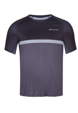 Camiseta Babolat COMPETE CREW NECK TEE MEN Black/Magnet