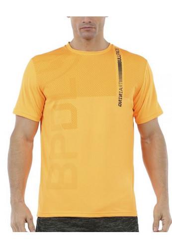 Camiseta Bullpadel RITAN Mandarina Fluor