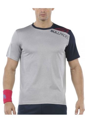 Camiseta Bullpadel UNUT Gris