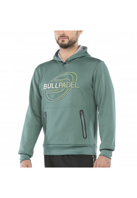 Sudadera Bullpadel RAMZI Verde Veridiano
