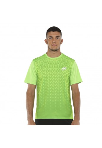 CAMISETA BULLPADEL CARTAMA VERDE ACIDO