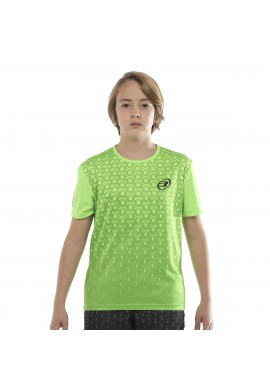 CAMISETA BULLPADEL CARTAMA VERDE ÁCIDO JUNIOR