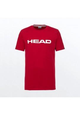 CAMISETA HEAD CLUB IVAN ROJO BLANCO