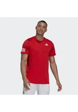 CAMISETA ADIDAS CLUB TENNIS 3 BANDAS White / Black
