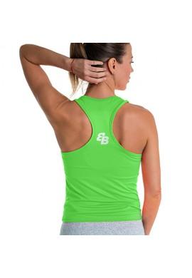 Camiseta BB Básica Pico Lime Green Fluor
