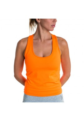 Camiseta BB Básica Carrot Fluor