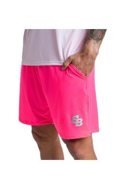 Short BB chico rosa fluor