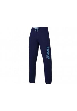 Pantalon Asics LOGO CUFFED azul