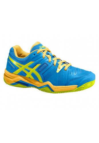 Zapatillas Asics GEL-PADEL COMPETITION 2 SG powder blue/flash yellow/nectarine