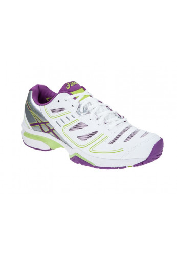 Zapatilla GEL-SOLUTION LYTE 2 CLAY blanca y violeta