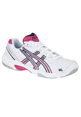 Zapatillas Asics GEL-DEDICATE 2 blaca y magenta