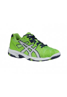 Zapatillas Asics GEL-RESOLUTION 5 GS neon green/lightning/navy