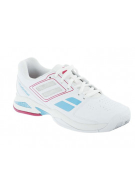 Zapatillas Babolat PROPULSE TEAM BPM JR banco y rosa