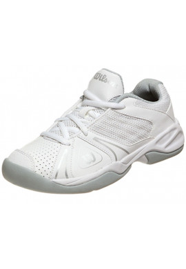 Zapatillas Wilson OPEN JUNIOR blanca y gris